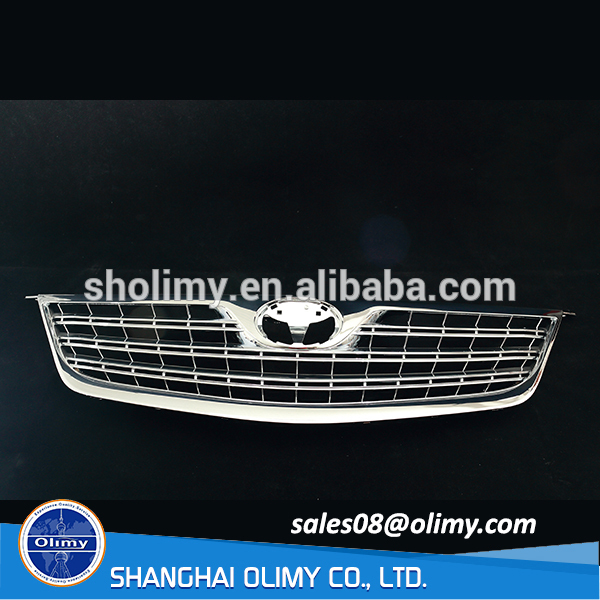 China professional customized injection plastic chrome plated car grills for sale