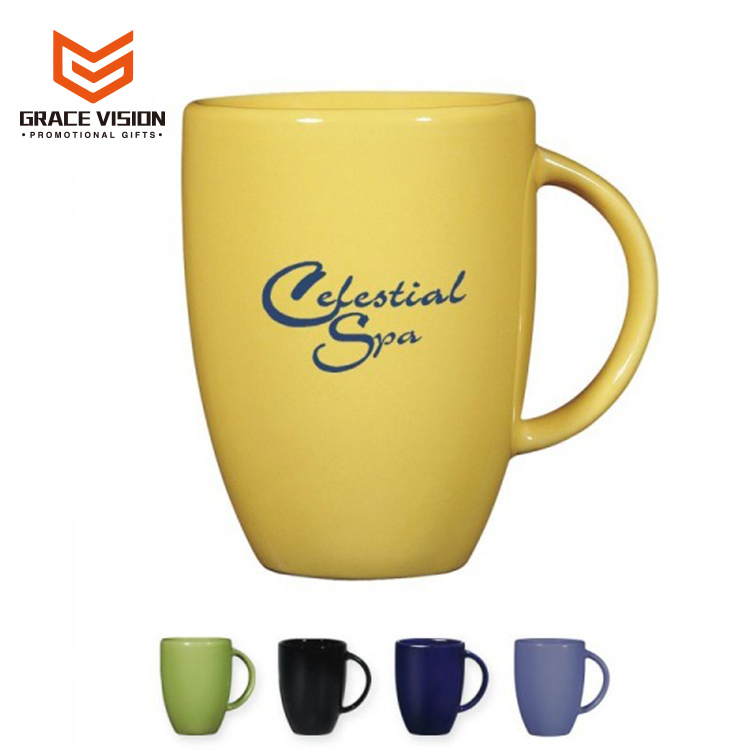Custom Sublimation Printed Promotional Ceramic Coffee Mug Coffee Cup