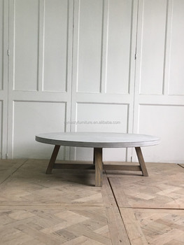 Wooden coffee table legs with antique concrete top coffee table wooden coffee table legs with antique concrete top coffee table watchthetrailerfo