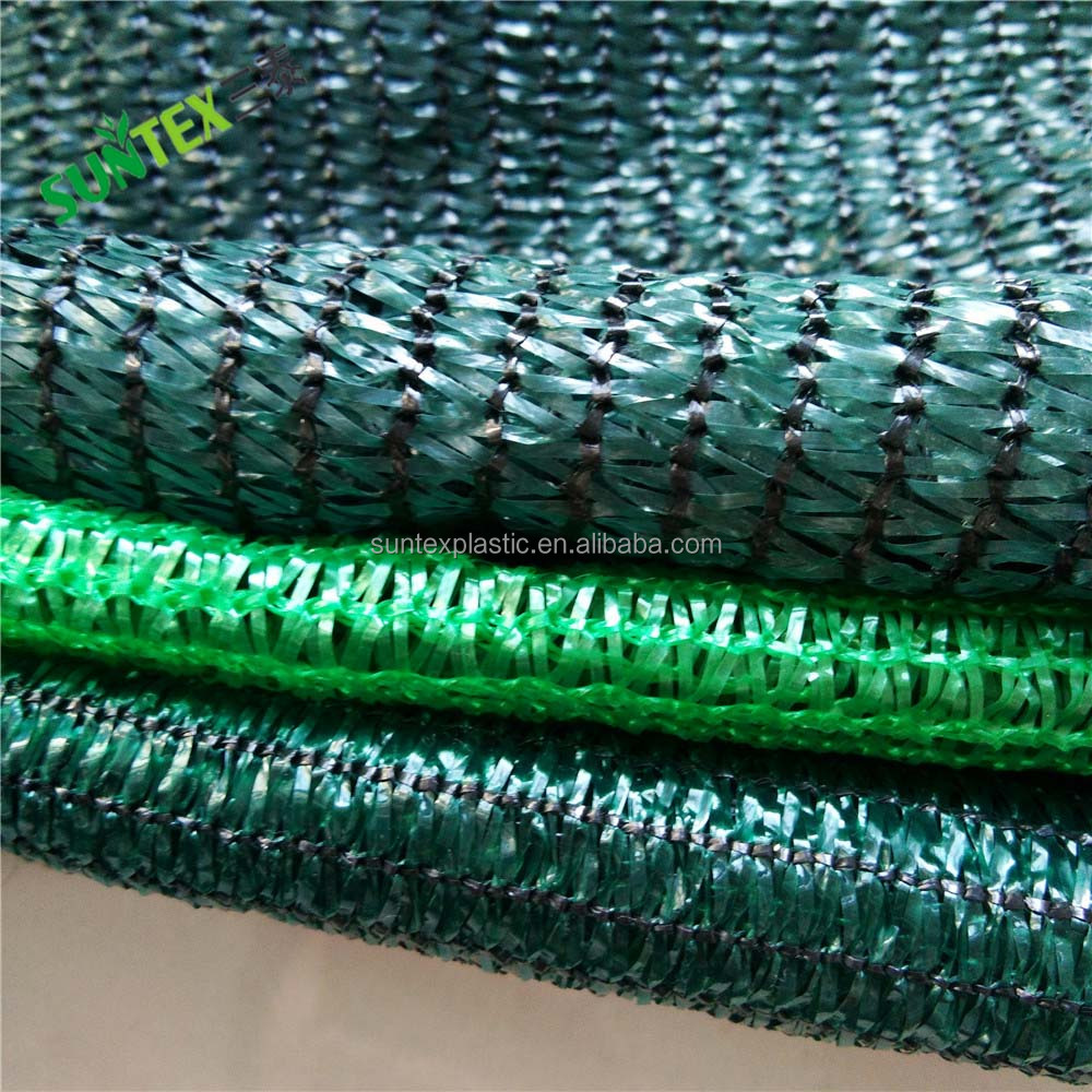 2018 china factory supply 100% new HDPE green Sun Shade cloth & waterproof sunshade net for garden & greenhouse shade cloth