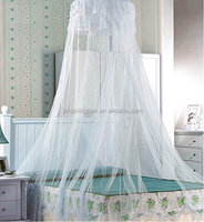 Elegant Round Lace Insect Bed Canopy Netting Curtain Dome Mosquito Net Bed