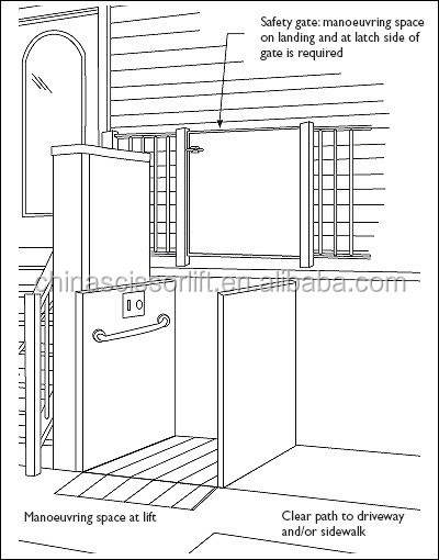 Home Elevator Lift Buy Wheelchair Elevator Lift