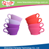 Set 4 eco-friendly silicone household cupcake decoration