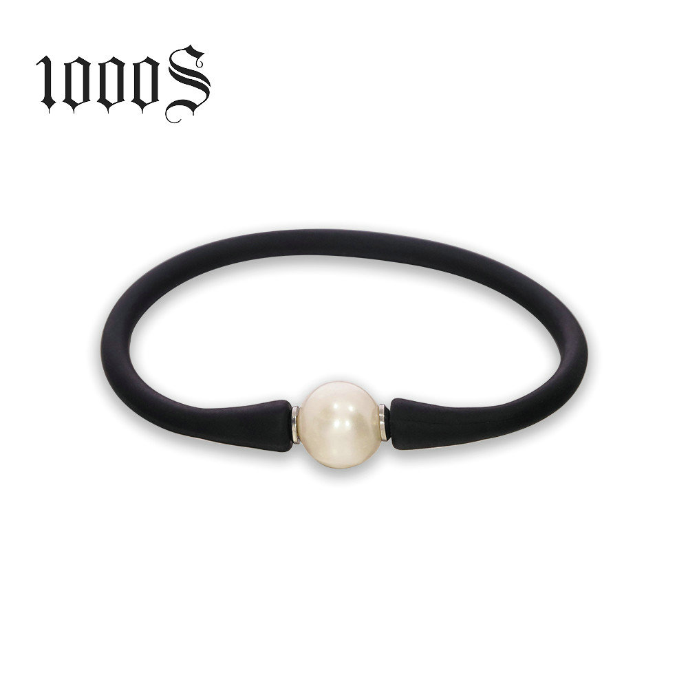 1000 초 프로모션 Gifts Custom Silicon Bracelet Trendy Bracelet Fresh 물 펄 bracelet