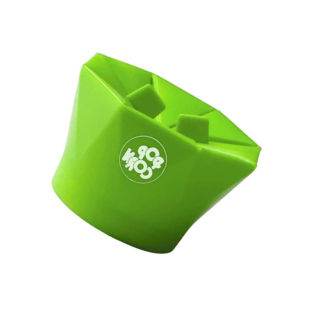MagiDeal Silicone Microwave Magic Popcorn Maker Container Cooking Kitchen Tools 2 Colors - Green