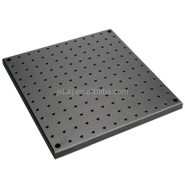 Black/ White Anodized Aluminum Optical Breadboard with M6 Tapped Mounting Holes MXT Series