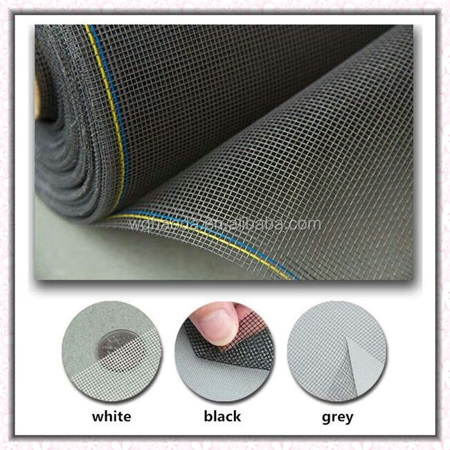 cheap and durable plastic colored anti mosquito netting / fiberglass fly screen / nylon window insect screen