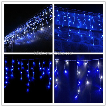 Outdoor String Lights Christmas Led Icicle Lights Snowflake Icicle Lights Pictures