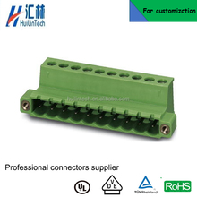 2-pole pluggable 5.08mm pitch fixed type terminal block