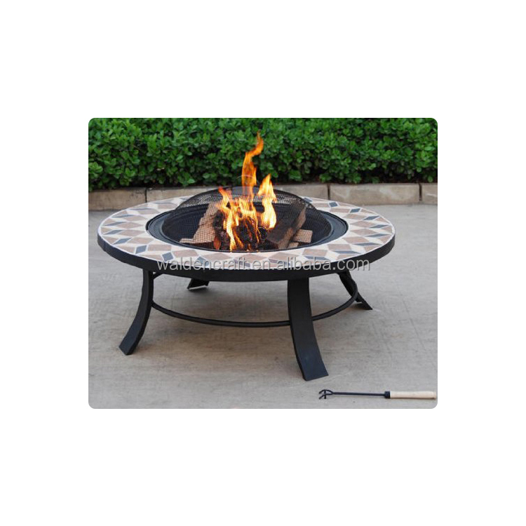Patio Ceramic Tile Fire Pit Product On Alibaba