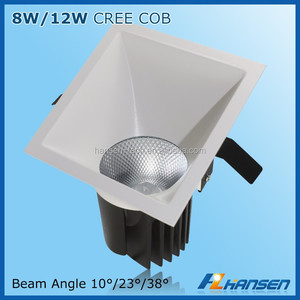 12w ultra-thin led recessed ceiling light 4x4 230v ba15d