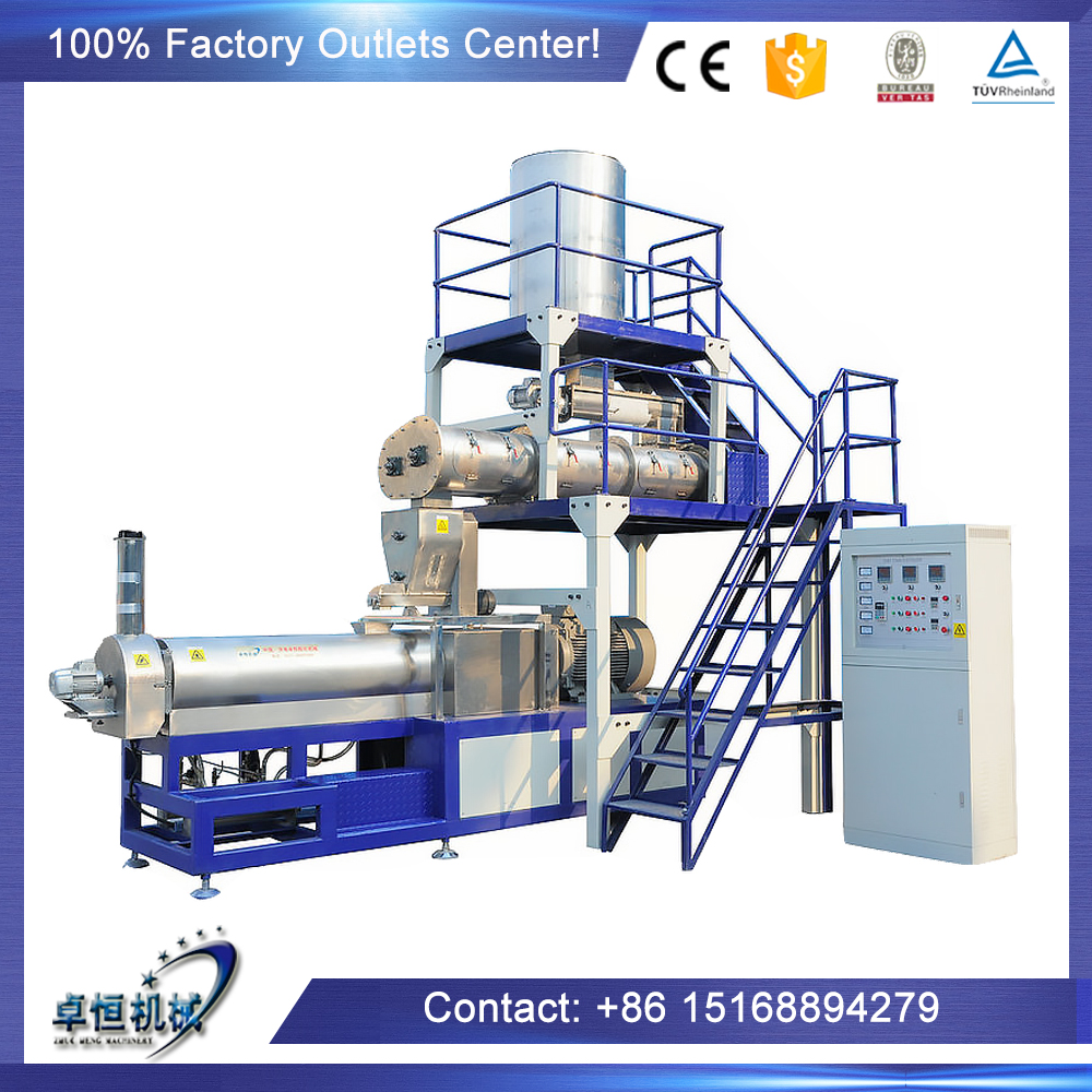 Automatic Dog / Cat /Fish food pet pellet making machine/processing line made in China on hot sale