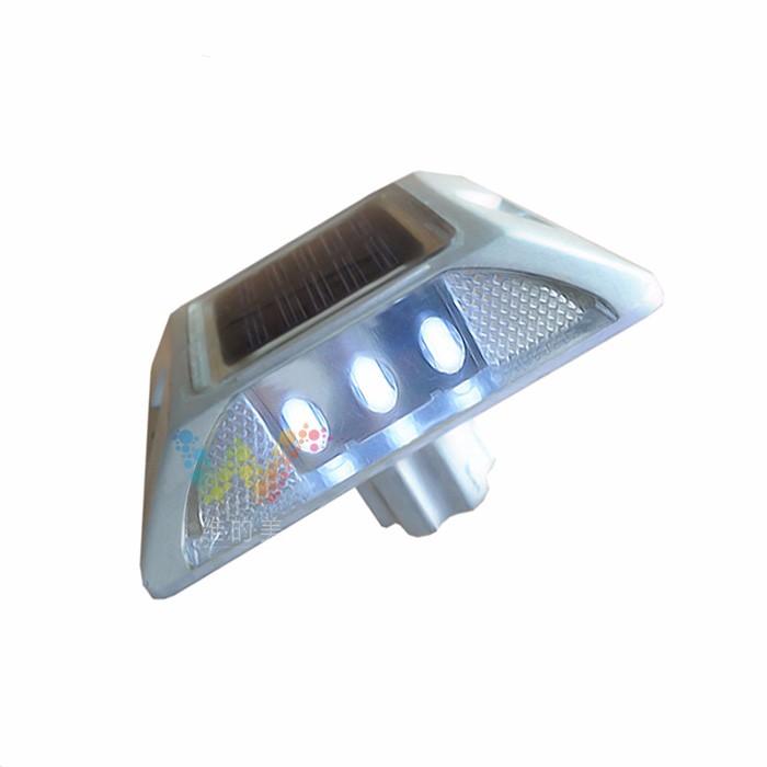Lumi/ère davertissement en aluminium imperm/éable /à leau de goujon de route