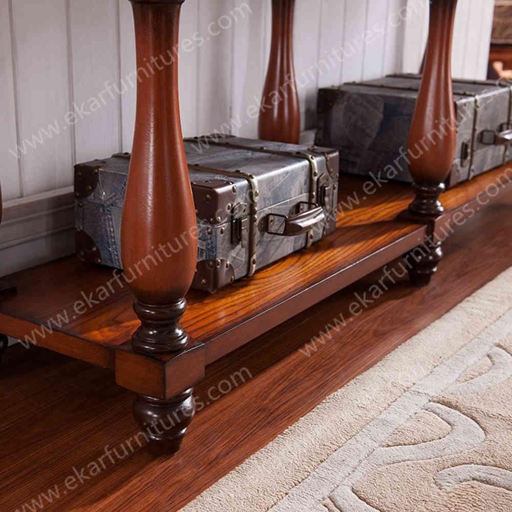 Klassieke houten console tafel antieke hobby lobby houten tafels ...