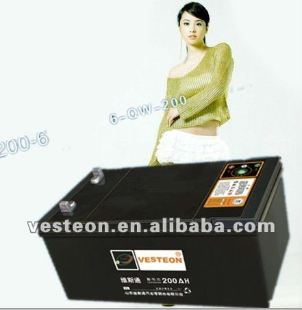 12V220AH 245H52 MF Truck Car Battery