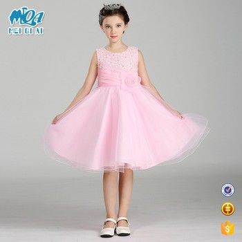 Latest Baby Girl Clothes Kids Net Dresses Designs Children Beaded ...