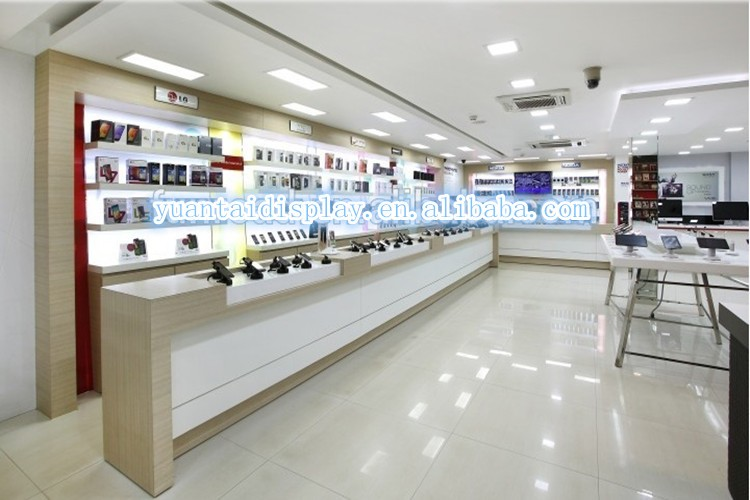 Cell Phone Repair Bar Shop Counters Mobile Interior Design