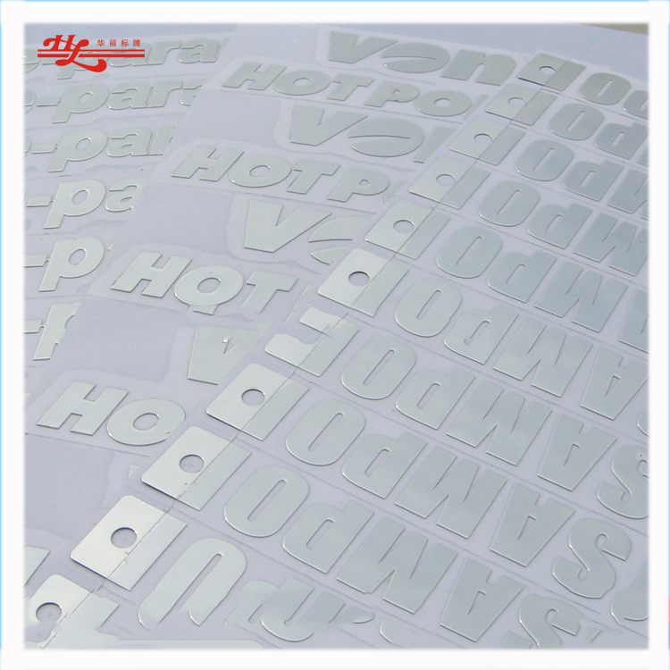 Customized 3d Soft Small Adhesive Letters Stickers English Alphabet Stickers Brand Name Stickers