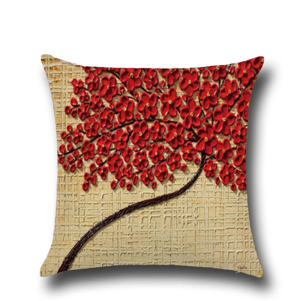 Fabric Painting Designs On Cushion Covers