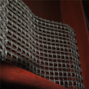 Corrosion resistant stainless steel honeycomb wire mesh roller conveyor belt