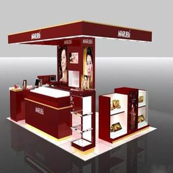 High Profile Makeup Display Stand For Shop Kiosk Mall And Mall Kiosk