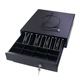 Black RJ11 3-position lock pos cash drawer (ECD330C)