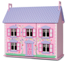 Pretend Play Deluxe Wooden Doll House Children Dream House Toy