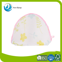 fashion popular mesh bra handmade foldable laundry bag