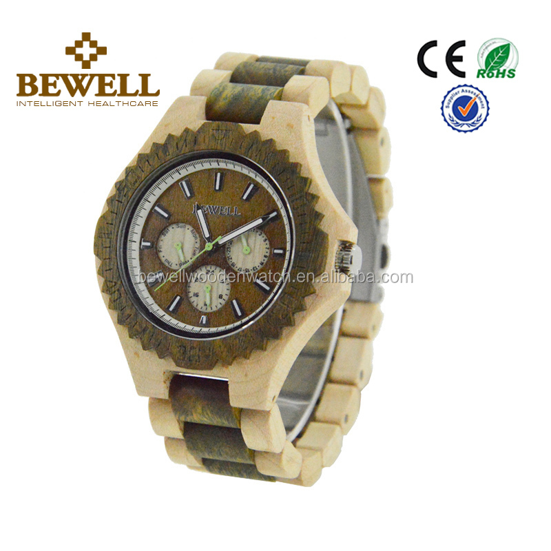 2017 Luxury Oem Brand Auto Date Fashion King Quartz Watch with Calendar and 24 Hours Showing