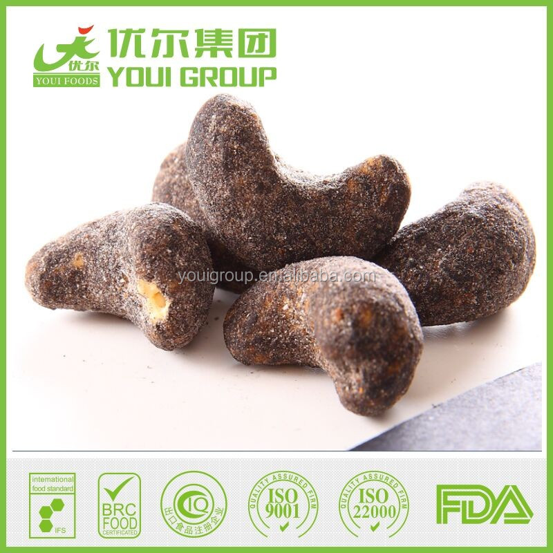 HACCP,ISO,BRC,HALAL Certification Brown Sugar Cashew with best quality and lowest price