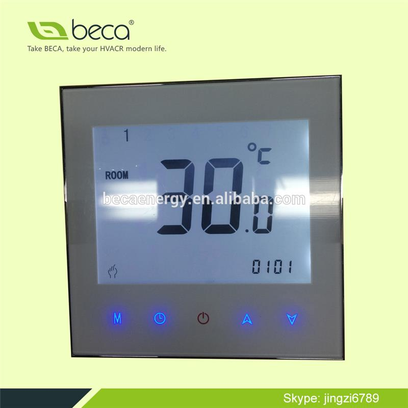 BECA Floor Heating Touch Screen thermostat Weekly Programmable thermostat