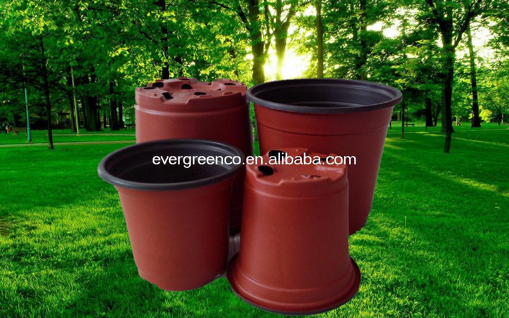 Plastic Plant Container Cheap Flower Pot Black Plastic