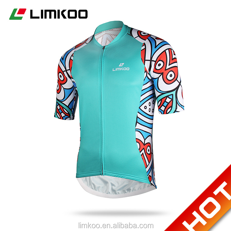 OEM custom full sublimation Pro Race cycling jersey