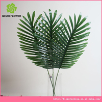 wholesale artificial palm tree leaves fake artificial leaves decorative artificial palm tree leaves