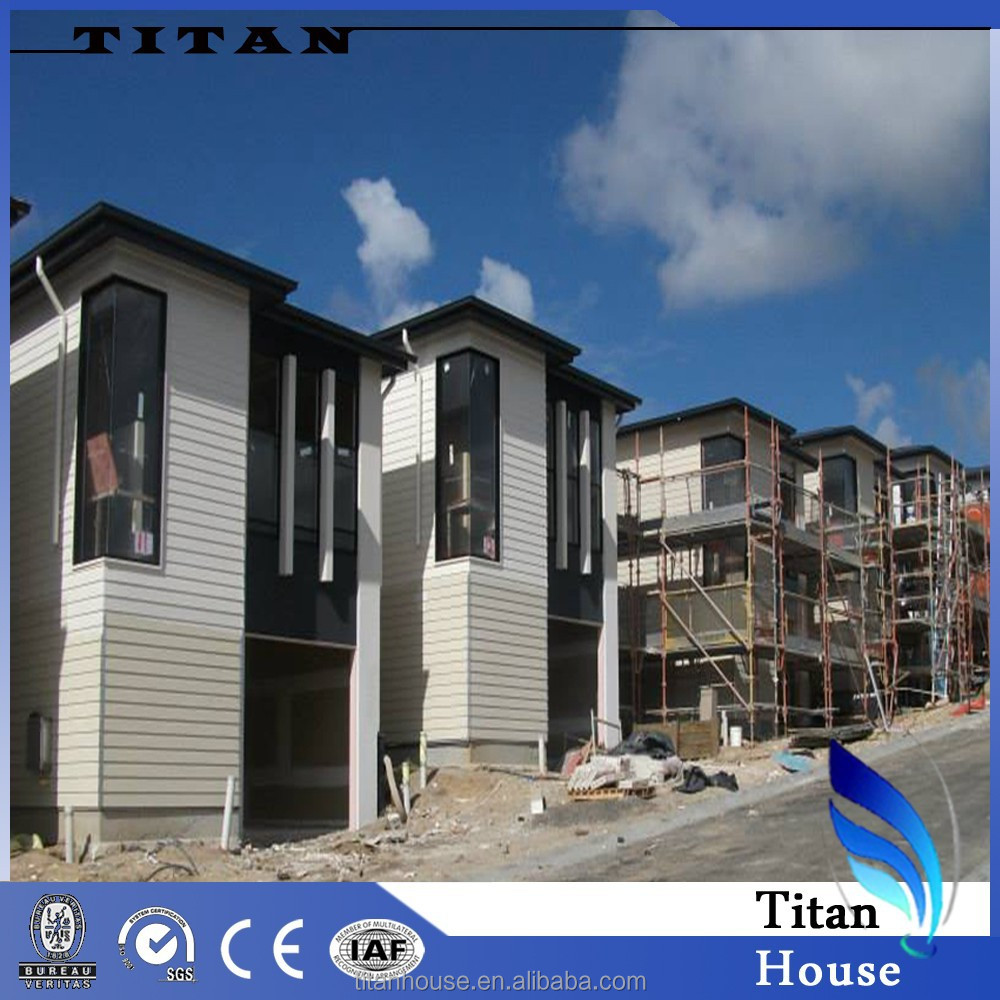 low cost licht stalen prefab bungalow ontwerp-prefab huizen ...