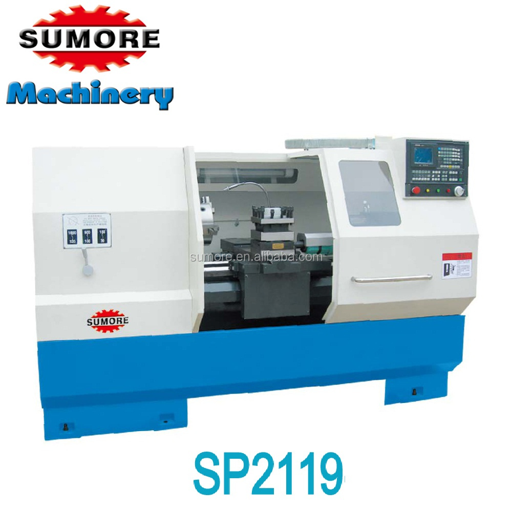 Sp2119 Heavy Duty Cnc Lathe Machine Industrial Fanuc Software - Buy Cnc  Machine,Heavy Duty Cnc Lathe,Industrial Cnc Lathe Machine Product on