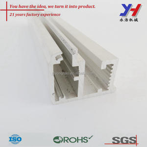 OEM ODM Custom Made Truck Aluminum Extrusions Protecting Bar Frame Profile