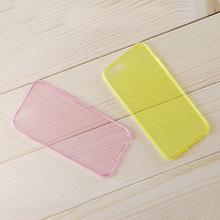 tpu material ultra thin scratch resistance soft case for Galaxy S2/I9100