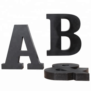 Art Minds Painted Wood Letters small wood alphabet letters