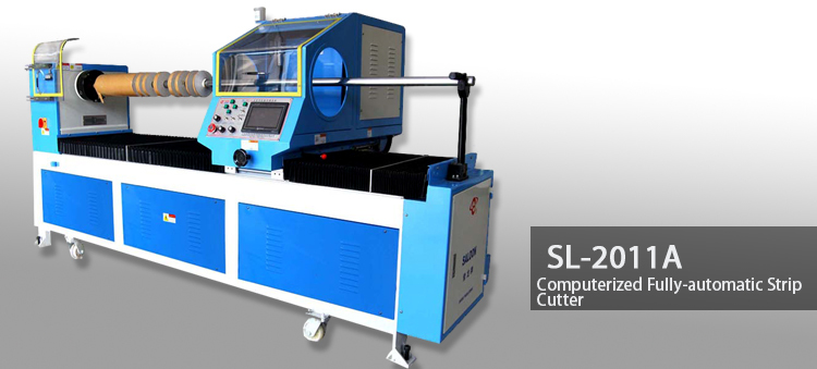 Saloon Machine SL-2011A computerized fully- automatic strip cutter