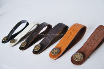 Guitar strap button holder