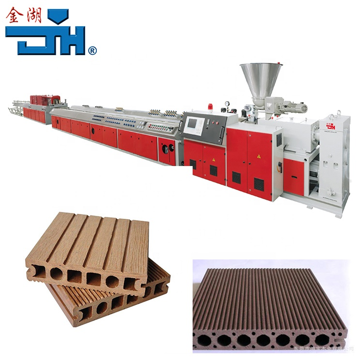PVC & PE & PP WPC Making Machine/WFence Making Machine/WPC Machine in Plastic Extruders