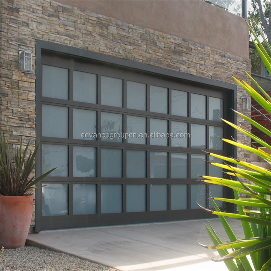 Aluminum Plexiglass Garage Doors Industrial Glass Doors Prices Buy