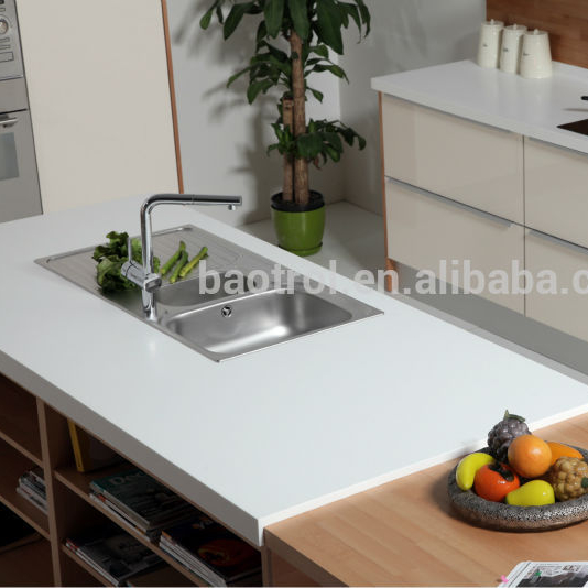 Cheap Price Laminated Artificial Marble Kitchen Countertops
