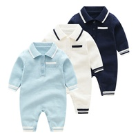 Emotion Moms Winter Baby Rompers Baby Boy Sweater Outfit Warm Newborn Baby Girl Clothes Long Sleeve Infant Jumpsuit