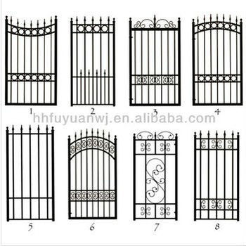 High Quality Steel Garden Gates Grill Design (factory)