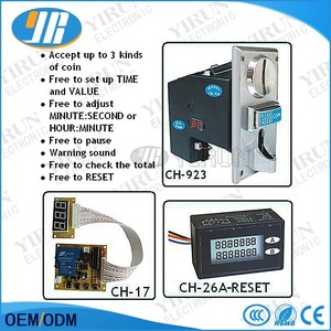 CH-923 Multi Coin Acceptor Selector Mechanism for 3 kinds of coins , suits Vending machine , arcade games etc...