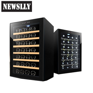 Home appliances semiconductor wine cooler wine display fridge wine cellar