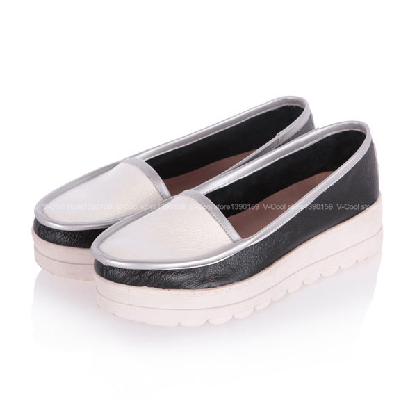 2015 Espadrilles Shoes Female Fashion Ladies Creepers Shoes Slip On Women Casual Creepers Womens Boat Shoes Sapatos Femininos