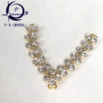 0356fb2bb Popular Shoes Accessories Crystal Rhinestone Chains On Sandals - Buy ...